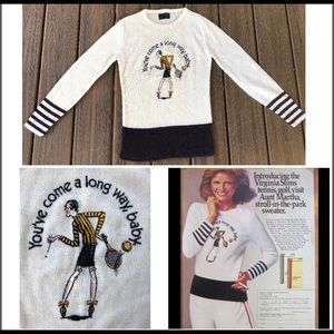 🔥 Vintage Virginia Slims sweater